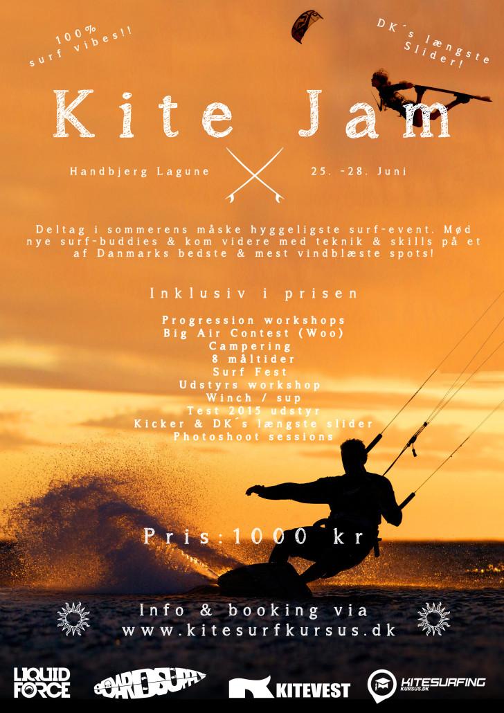 Kite Jam handbjerg 2015